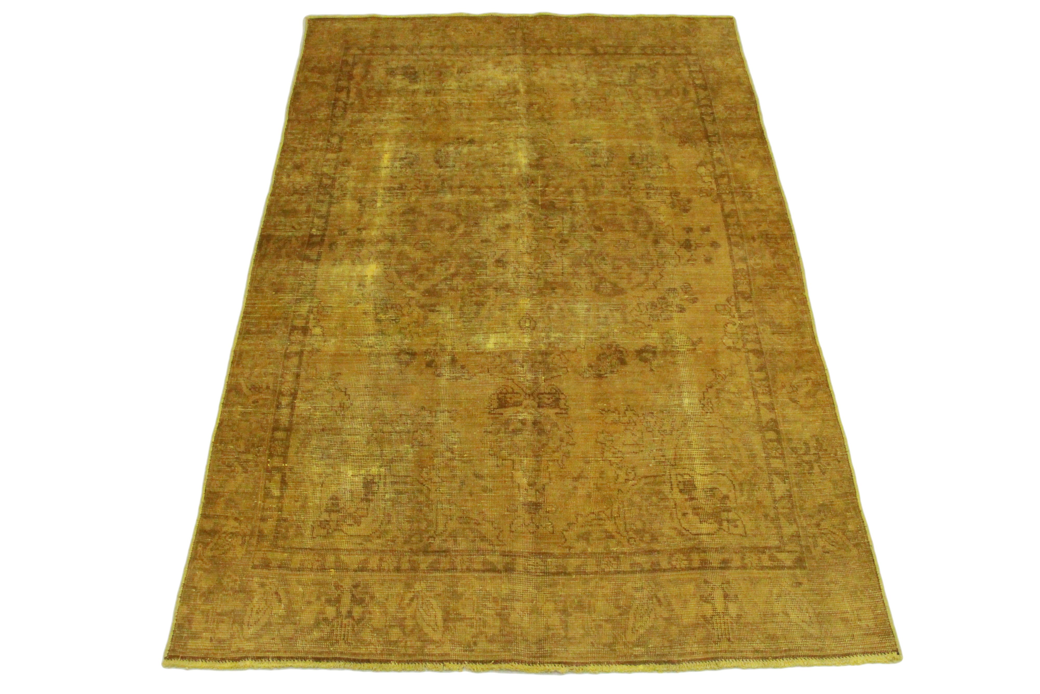 vintage teppich gold gelb in 270x180 1001 3494 bei. Black Bedroom Furniture Sets. Home Design Ideas