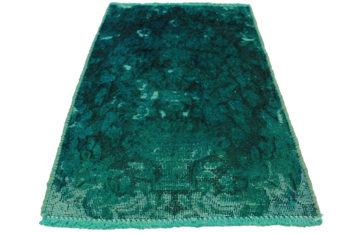 vintage teppich t rkis in 60x40cm 1001 5055 bei kaufen. Black Bedroom Furniture Sets. Home Design Ideas