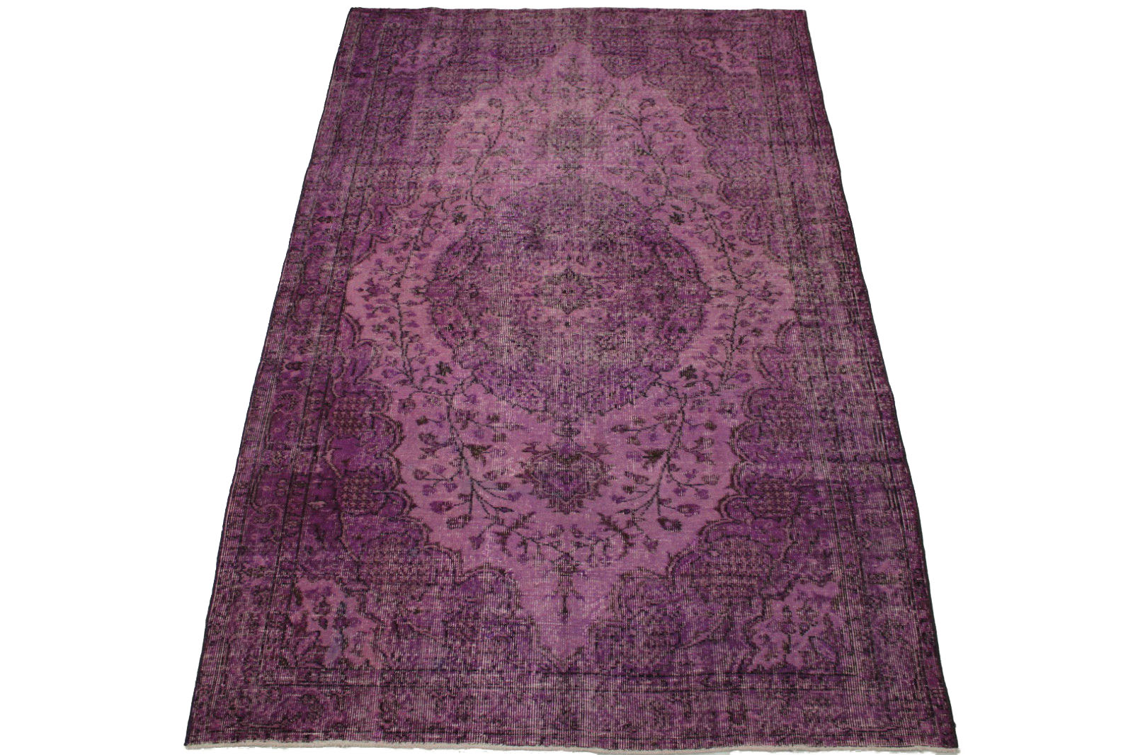 vintage teppich lila in 250x160cm 1011 11 bei kaufen. Black Bedroom Furniture Sets. Home Design Ideas