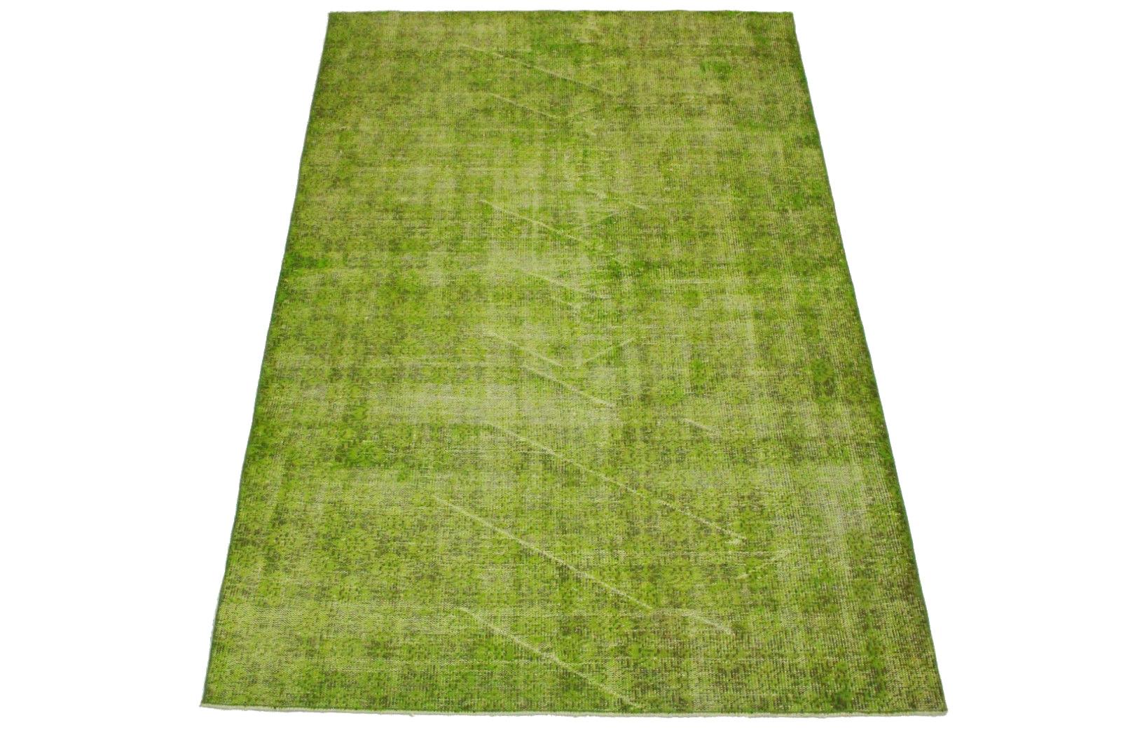 Vintage teppich grün braun in 260x160cm (1011 5117) bei carpetido ...