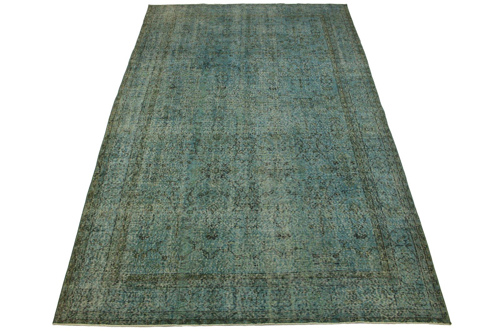 vintage teppich blau grau in 310x200cm 1011 61 bei kaufen. Black Bedroom Furniture Sets. Home Design Ideas