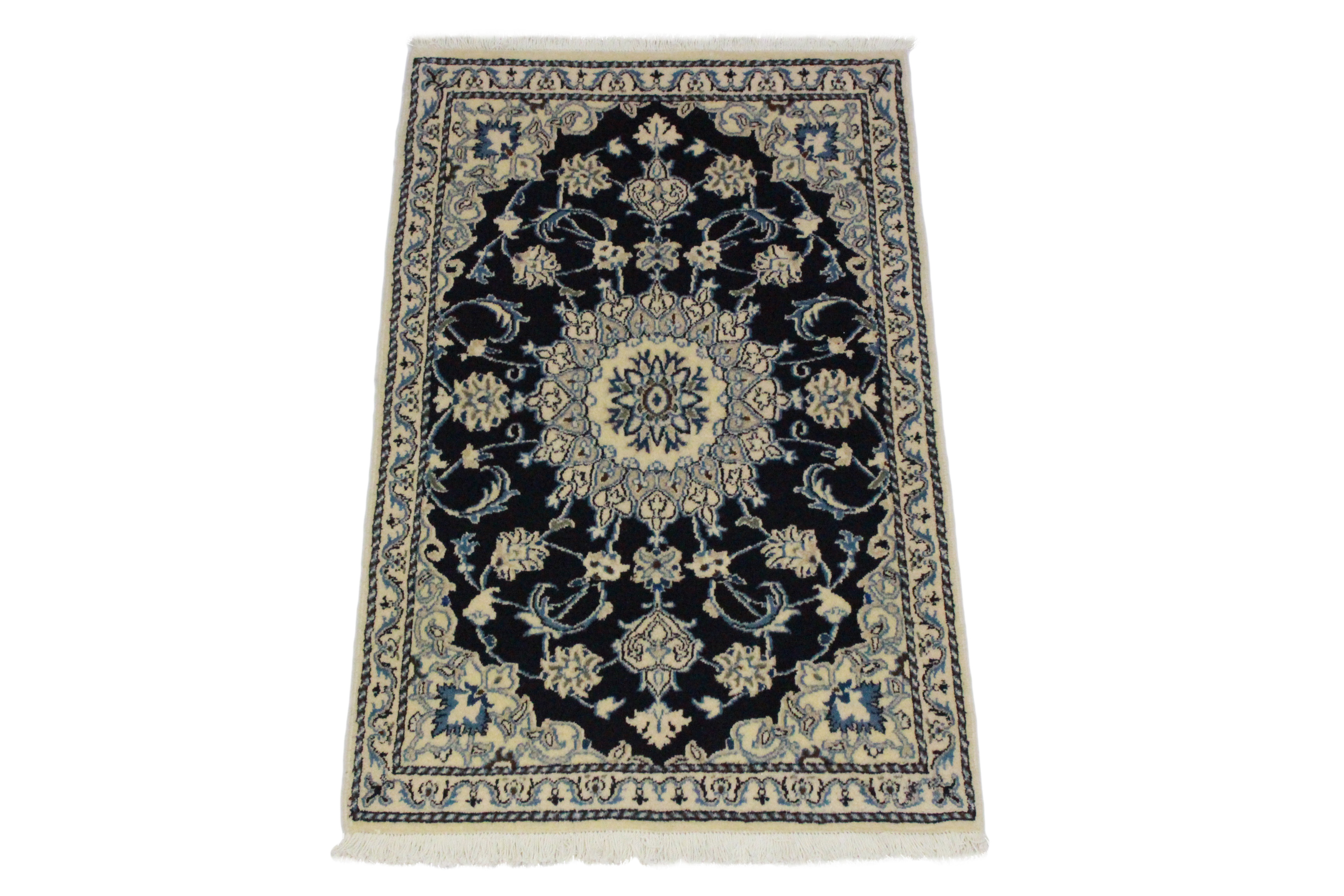 Nain rug beige blue in 130x90 5120 21836 buy online at - Wonderful persian living room designs buying tips for the rug ...